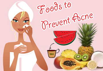 Include them in your diet to make wipe out out acne..